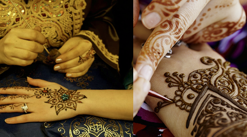 Spectaculaire henna tatoeages